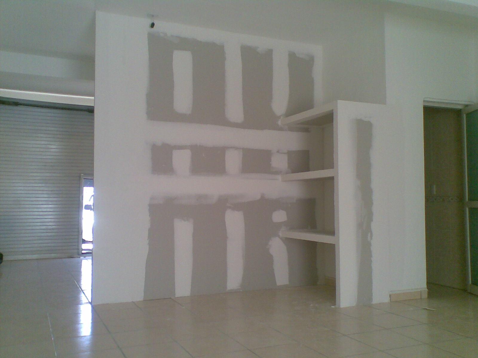Muros tablaroca guadalajara imperllanta utilcel durock for Plafones de pared exterior