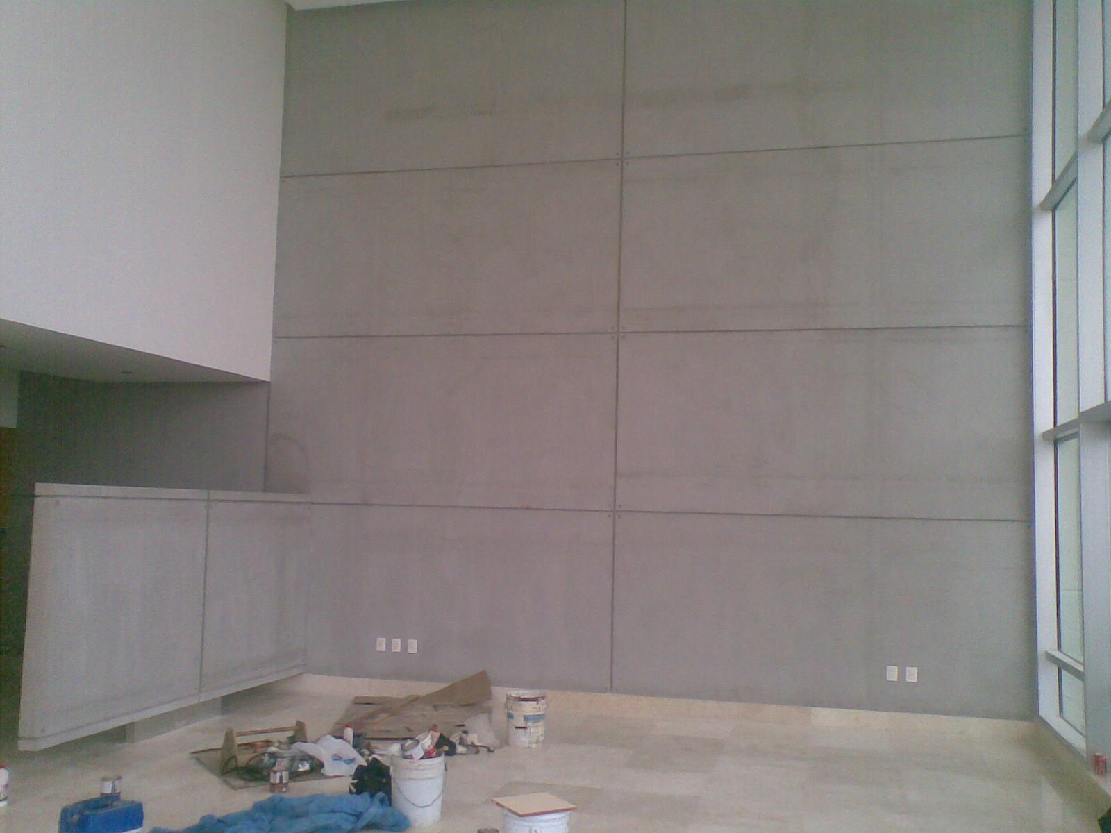Muros tablaroca guadalajara durock imperllanta utilcel for Plafones de madera pared
